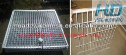iron fence dog kennel/hot wire dog fence/1.8x1.2m dog fence