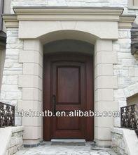 exterior custom wooden door