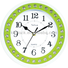 9 inch Plastic Wall Clock WH-6857 for Decoration