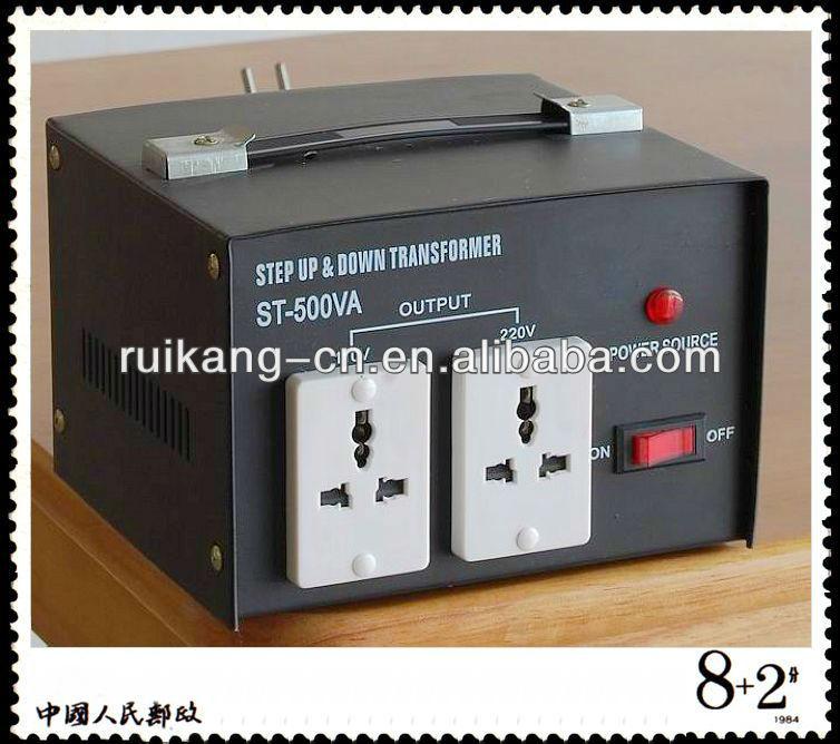 El paso hacia abajo transformador 110v 220v, 240v convertir 110v transformador, 220v 110v 500w transformador