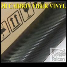 3d Black Carbon fiber vinyl
