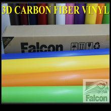 3d Carbon fiber sticker