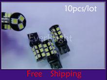 T20 12V DC 5050 27SMD 5050 3 Chips 27Leds Canbus Error Free car warning light