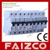 yueqing mini circuit breaker mcb high fire-resistant plastic
