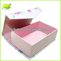 Imán caja de papel con el modelo de flor