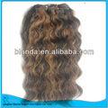 2013 100% cheveux humains/beyonse coiffure à la couleur des cheveux