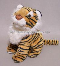 Tiger Cub Sitting Stuffed Plush Animal