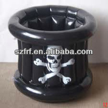 Inflatable Skull Cooler Ice Bucket