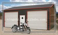 steel structure car garage/design for steel carport