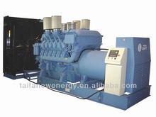 Engine 16V4000G23 MTU 1650KW diesel generating set
