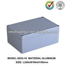 Die cast aluminum weatherproof boxes