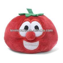 "Bob the Tomato 2.5"" tall VEGGIE TALES beanbag plush stuffed animal toy"