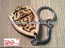 The legend of zelda cartoon wood keychains
