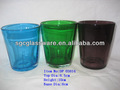handmade cor da água do copo de vidro