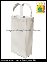 Organic cotton bottle bag with classic style