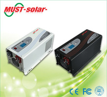 12v 220v dc/ac solar inverter 1000w ,1500w,2000W,3000W 4000W 5000W 6000W pure sine wave