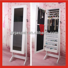 wooden furniture mirror jewellery cabinet