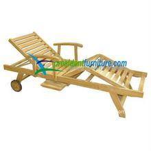 Straight lounger w/ Arm W/ Cushion PF13001