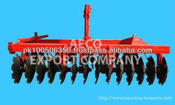Disc Harrow with massey ferguson tractor