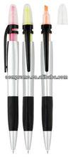 Ball Pen And Highlighter Combo;Ballpoint pen, Highlighter pe