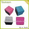 2013 cubo de moda diseño de mini altavoz bluetooth