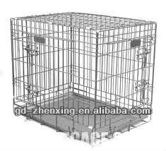 Galvanised Foldable Dog Kennels(factory in Guangzhou)