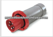weatherproof waterproof industrial plugs IP67