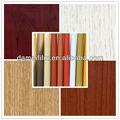 Tamaño de vetas de la madera 0.12-0.5mm decorativos de papel de impresión