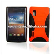 Personalized Saucerman silicon mobile phone case for LG L5/E610/E615