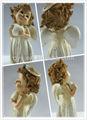 Resina bebê do anjo escultura projeto fashional decorativas