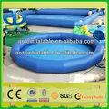 Best-seller inflável hamster bola de bilhar, inflável piscinas redondas de plástico