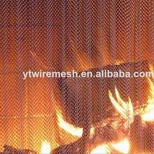 Decorative fireplace netting/fireplace wire mesh
