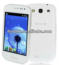 "4"" MTK6515 dual sim cheap Android mobile phone i9300"