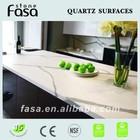 Very popular Calacatta white quartz countertop by FASA designed