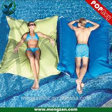 Pool floating Bean bag cushion, Water&Stain resistant polyeser, open air pool float beanbag