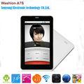 pulgadas 7 allwinner a13 tablet pc llamada de teléfono androide tableta tablet a13 construir en 3g con ranura para tarjeta sim