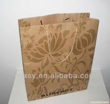 2013 fashion&cheap kraft paper shopping bag