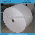 Qualité alimentaire Double côtés enduit de Silicone blanc rouleau de papier