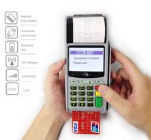Justtide M3000 grande de crédito de la pantalla / tarjeta de débito tarjeta de Terminal de la posición
