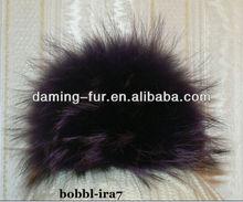 12CM 13CM 14CM Raccoon Dog Fur Balls OEM Wholesale/Retail