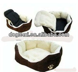 Fashion style soft cashmere material cute dog house