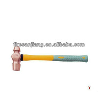 Bridge anti- explosion-proof tools, explosion-proof copper the plastic handle nipple hammer ( 2205-1002 ) 1 /2 lbs .
