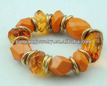 Costume jade stone bracelet