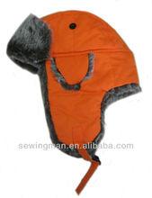 Faux Fur Trapper Hats faux fur aviator hat pilot aviator hat