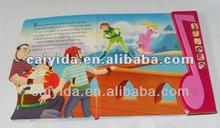 children's talking book with sound button(BSCI,EN71,FSC)