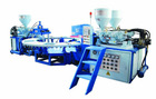 Hot Sale three color upper injection machine