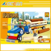 220pcs My happy farm MINI building block|toy truck OC0150706