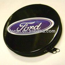 tin CD DVD VCD case & round movies CD case&Portable tin CD case