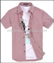 Half shirt cotton men