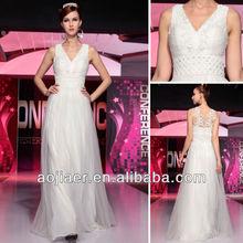 Sheath Scoop Neck Court Train Chiffon Prom Dresses With Ruffle Beading (018016766)